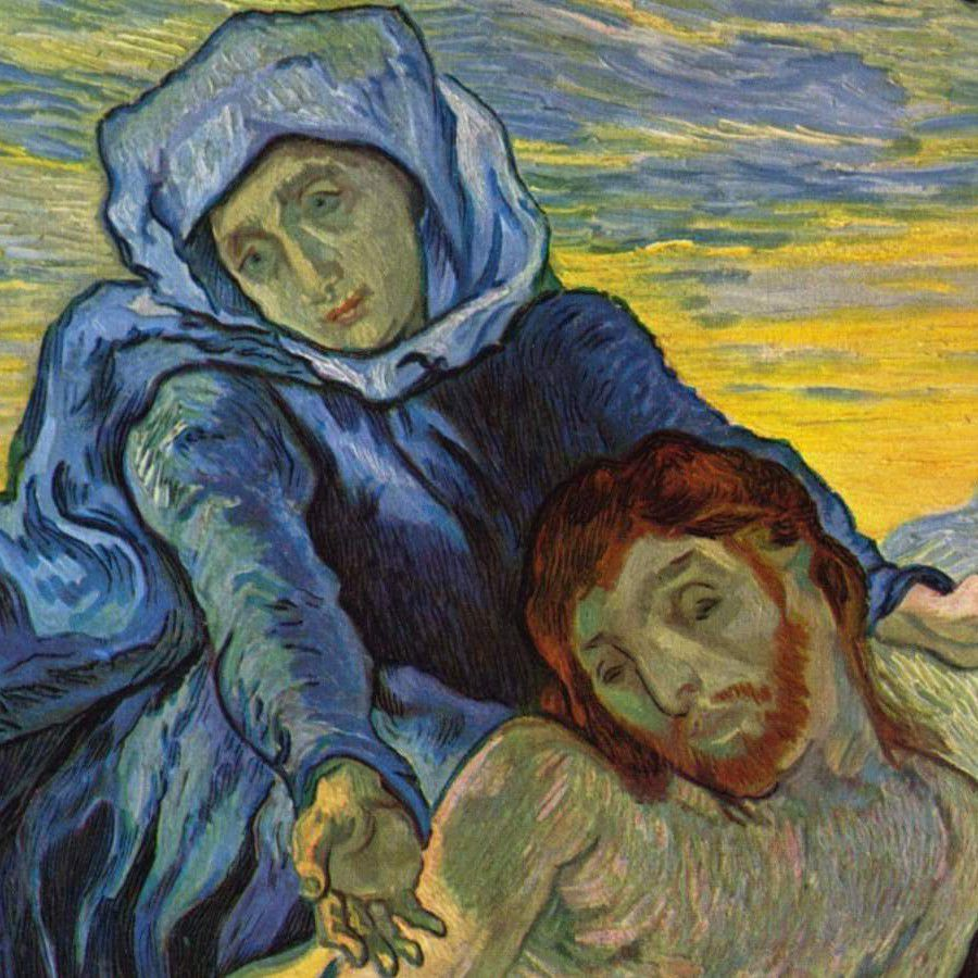 Vincent Van Gogh's Pietà CC BY 3.0