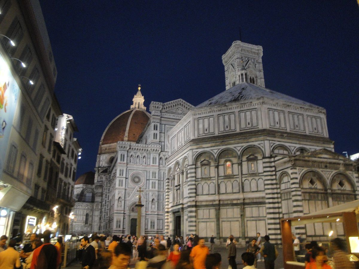 Florence Dome by night