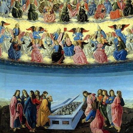 Francesco Botticini_The Assumption of the Virgin