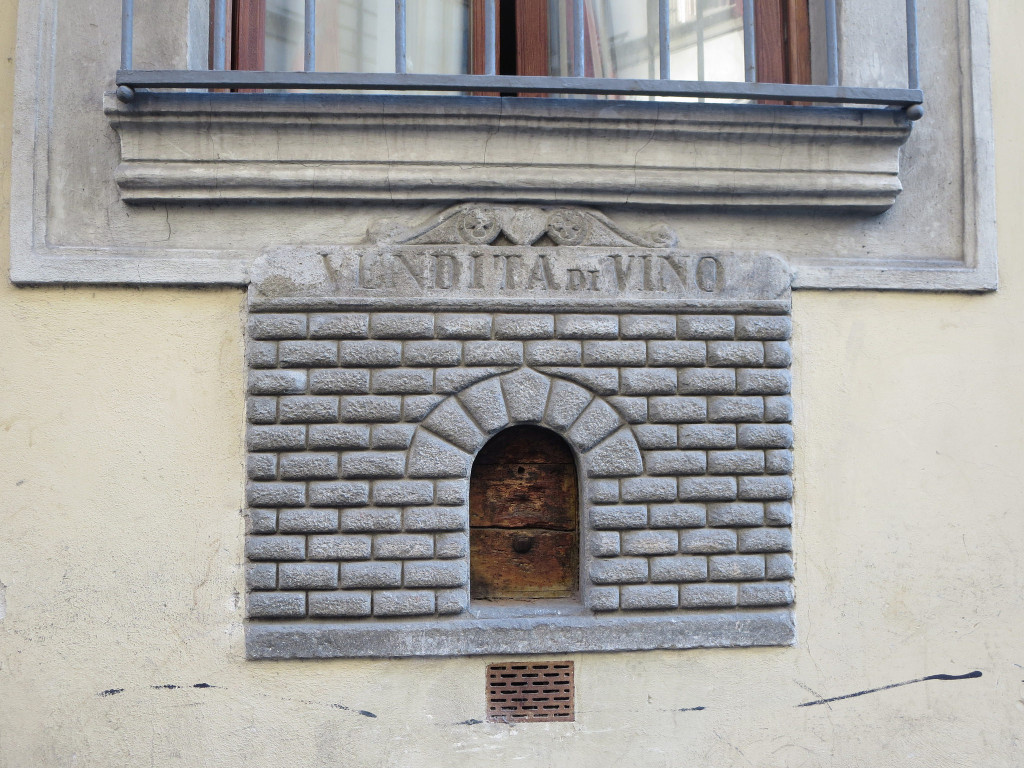 Old wine vending window, Florence by Ieiris202