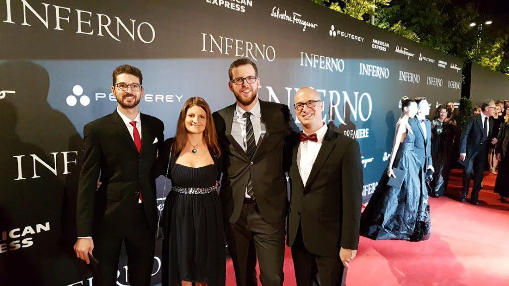 Guests to the Inferno world premiere
