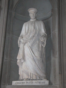 Statue of Cosimo the Elder (Cosimo il Vecchio)