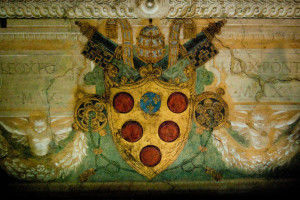 The Medici's coat of arm