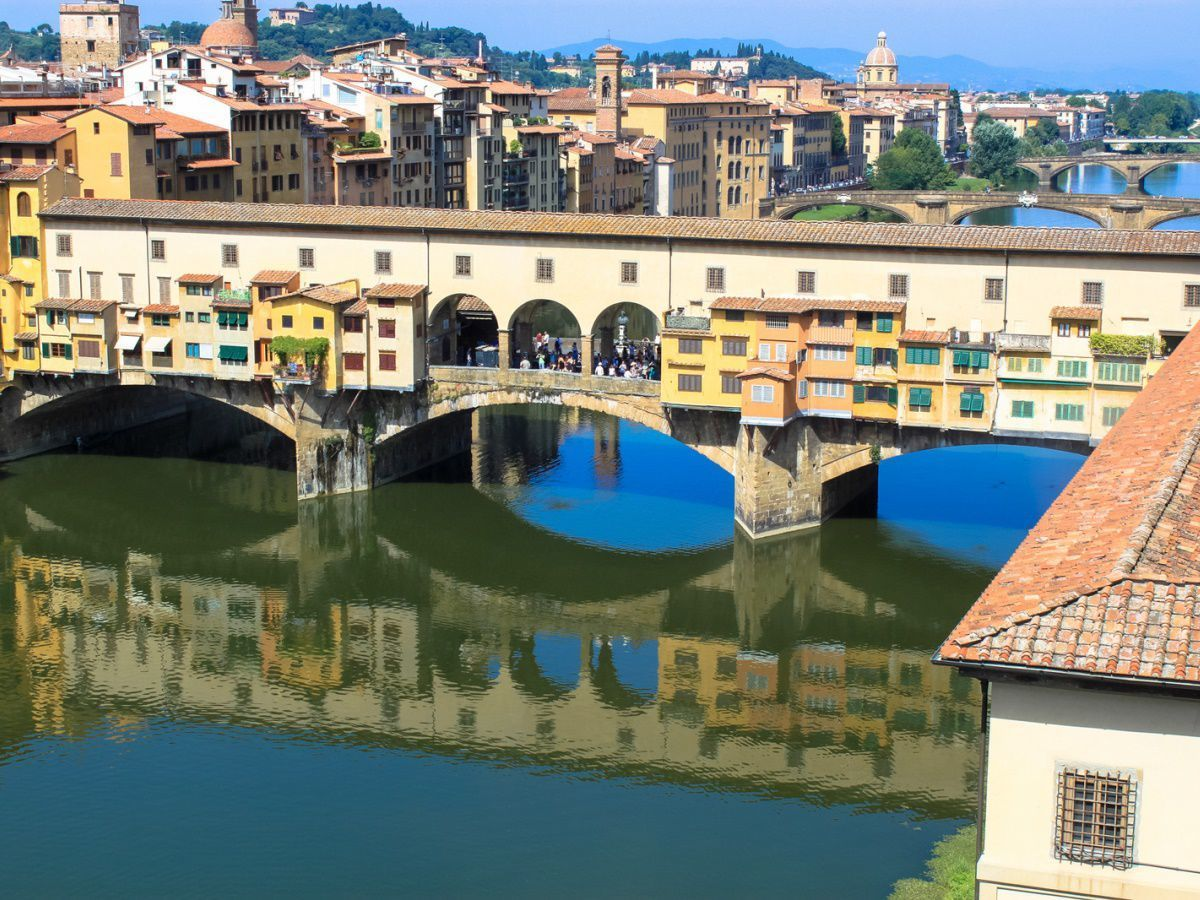 Ponte Vecchio from the Uffizi by Andy Hay CC by 2.0
