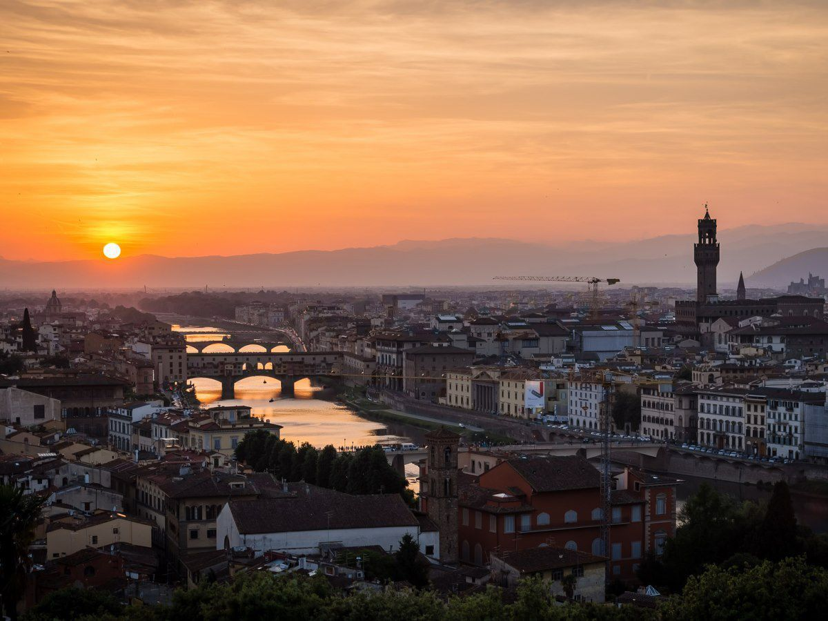 Florence Sunset CC by 2.0