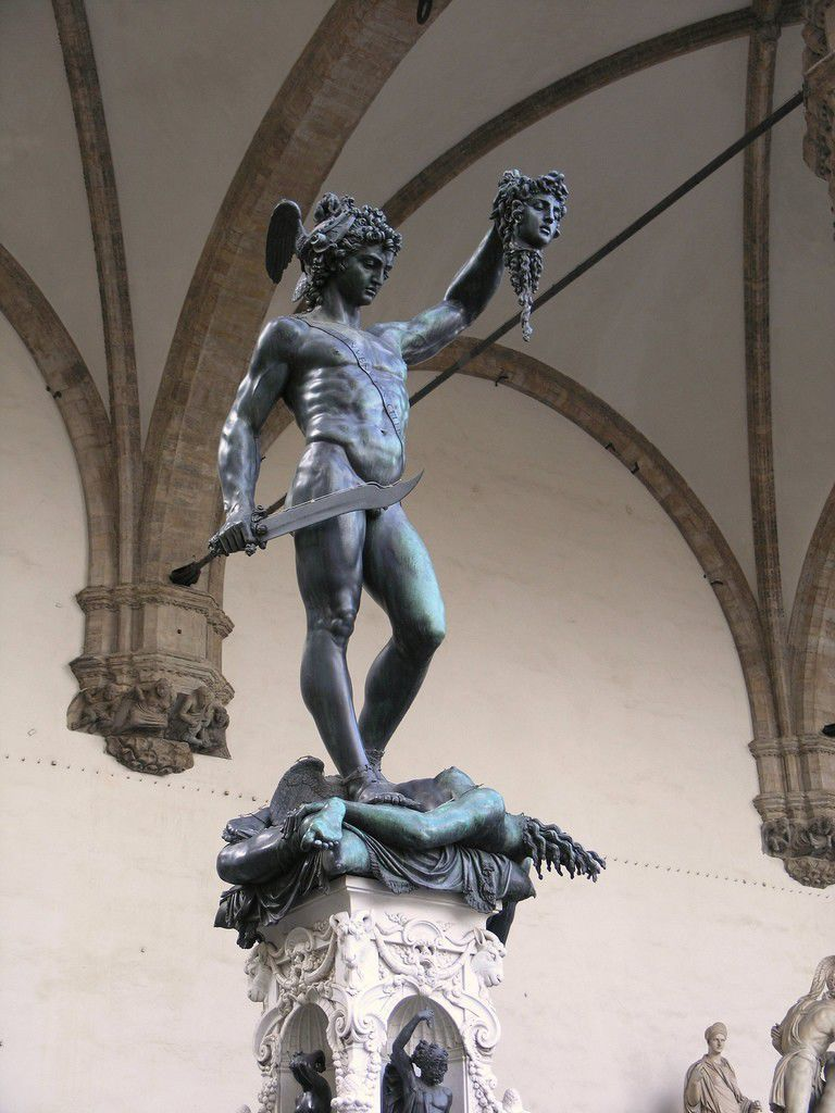 Florence, italy Loggia dei Lanzi by Darren