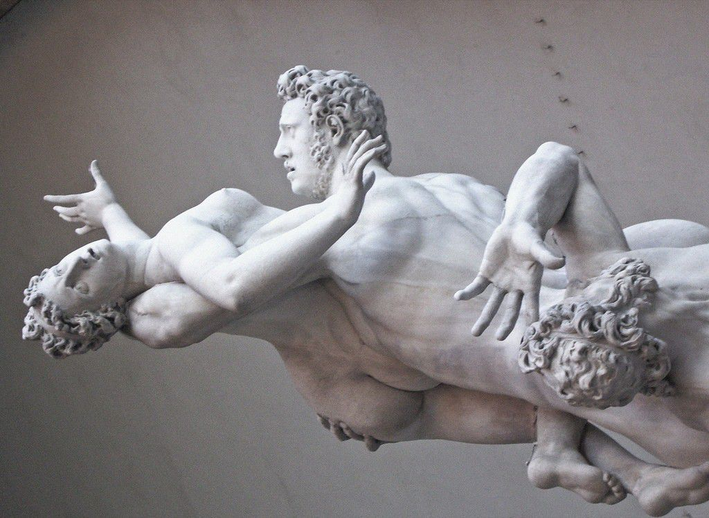 Ratto delle Sabine( Florence, italy) by Helder da Rocha