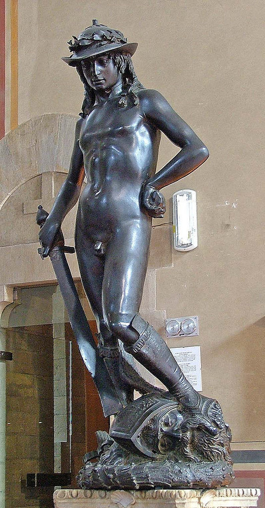 Bargello Museum,David,Donatello by Frans Vandewalle